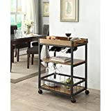 Linon Austin Kitchen Cart