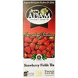 Adam Tea, Strawberry Fields Tea, 25 Tea Bags, (2 grams each), 1.67 oz