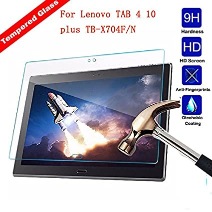 Amazon.com: TDA Glass Screen Protector For Lenovo Tab 4 10 ...