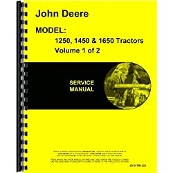 John Deere 1650 Tractor Service Manual (Includes 2