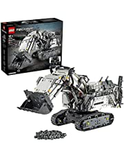 LEGO 42100 Technic Liebherr R 9800 Graafmachine App-gestuurde Bouwset met Motoren, Graafmachine Speelgoed, Constructiespeelgoed met Control+