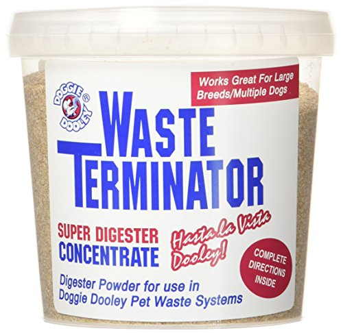 Doggie Dooley 3116 Waste Terminator, 1-Year Supply (Dog Disposal Pet Waste)