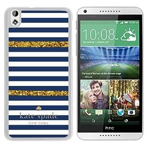 Unique Designed Kate Spade Cover Case For HTC Desire 816 White Phone Case 98