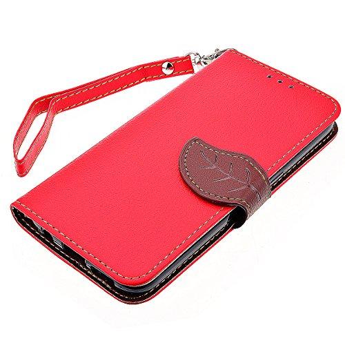 HB-Int 4 x 1 Vandot 3 in1 Set Wallet Style with Two Card Slots PU Leather Case Cover para Samsung Galaxy S7 PU Flip Funda de Cuero Estuche de Tirón de Alta Calidad Funda Protective Case Funda Cover Te