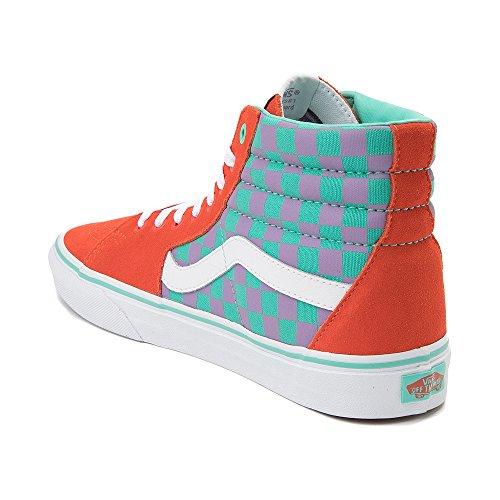 7283 Unisex Reissue Sk8 Skate Vans Chex Sk8 Hi hi Shoes Multi Sqw4v7Ox