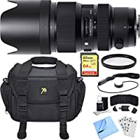 Sigma 50-100mm F/1.8DC HSM Lens for Nikon Mount includes Bonus Sandisk 64GB Memory Card and More
