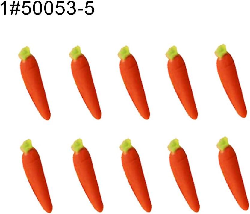 "Orange bell peppers 4/"" x 1/"" Dollhouse miniatures 1:12 vegetable garden row"