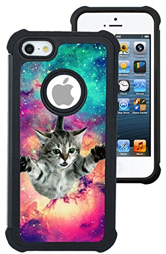 iphone 5s case space cats - 3