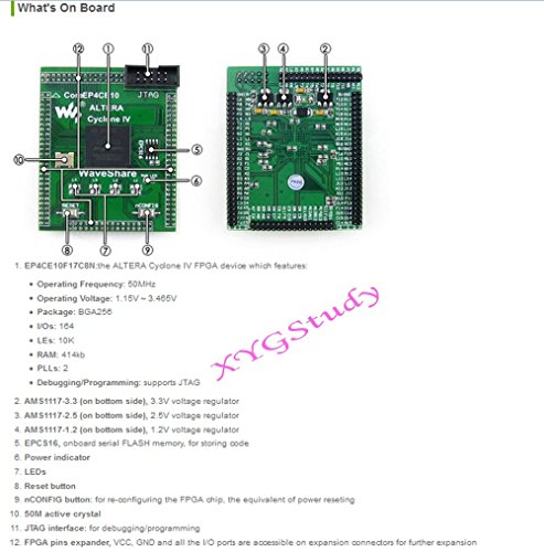 CoreEP4CE10 EP4CE10 EP4CE10F17C8N FPGA ALTERA Cyclone IV - Import It All