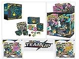 Pokémon TCG Team Up Ultimate Trainer Kit Bundle, Including 1 Booster Box, 1 Elite Trainer Box, and 2 Blister Packs
