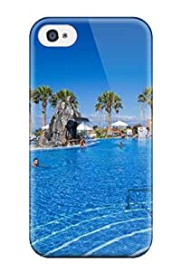 Hot New Arrival Cover Case With Nice Design For Iphone 4/4s- Tenerife Holidays 3807375K14326708