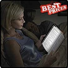 New LED Light Wedge Panel Book Reading Lamp Paperback Night USA
