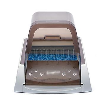 QFFL chongwuyinshuiji Olla de Arena para Mascotas Limpieza automática de la Caja de Arena Inteligente Caja Fuerte para Gatos Desodorante de tocador Lavabo ...
