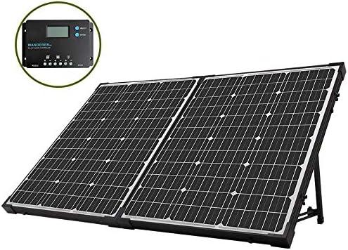 HQST Monocrystalline Solar Panel Suitcase