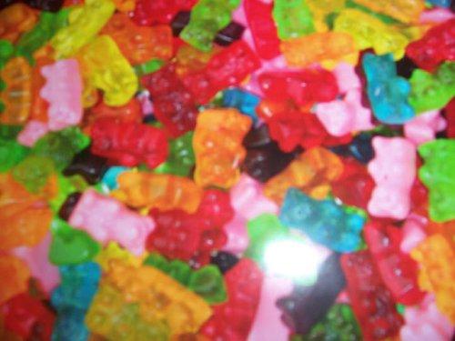 Candy Sugar Free Gummi Bears,1 lb. -