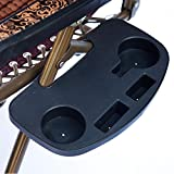 Bracket, USCOOL Zero Gravity Lounge Chair Cup Holder Clip On Side Tray Utility Beverage