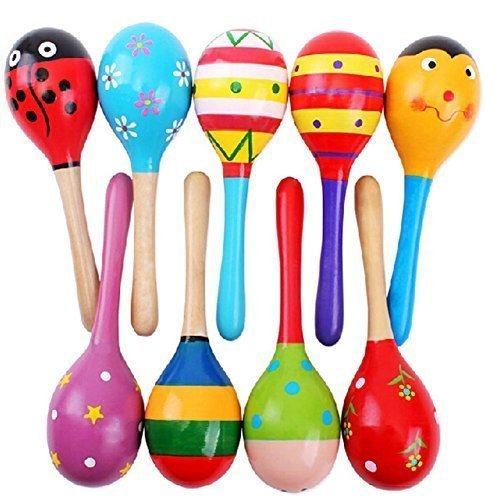 agooding-mini-wooden-ball-musical-instruments-maracas-set-of-4