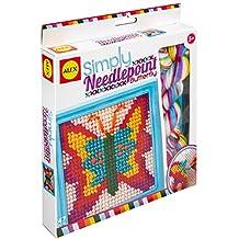 Alex juguetes–Artesanía, Simplemente Needlepoint Kit Butterfly