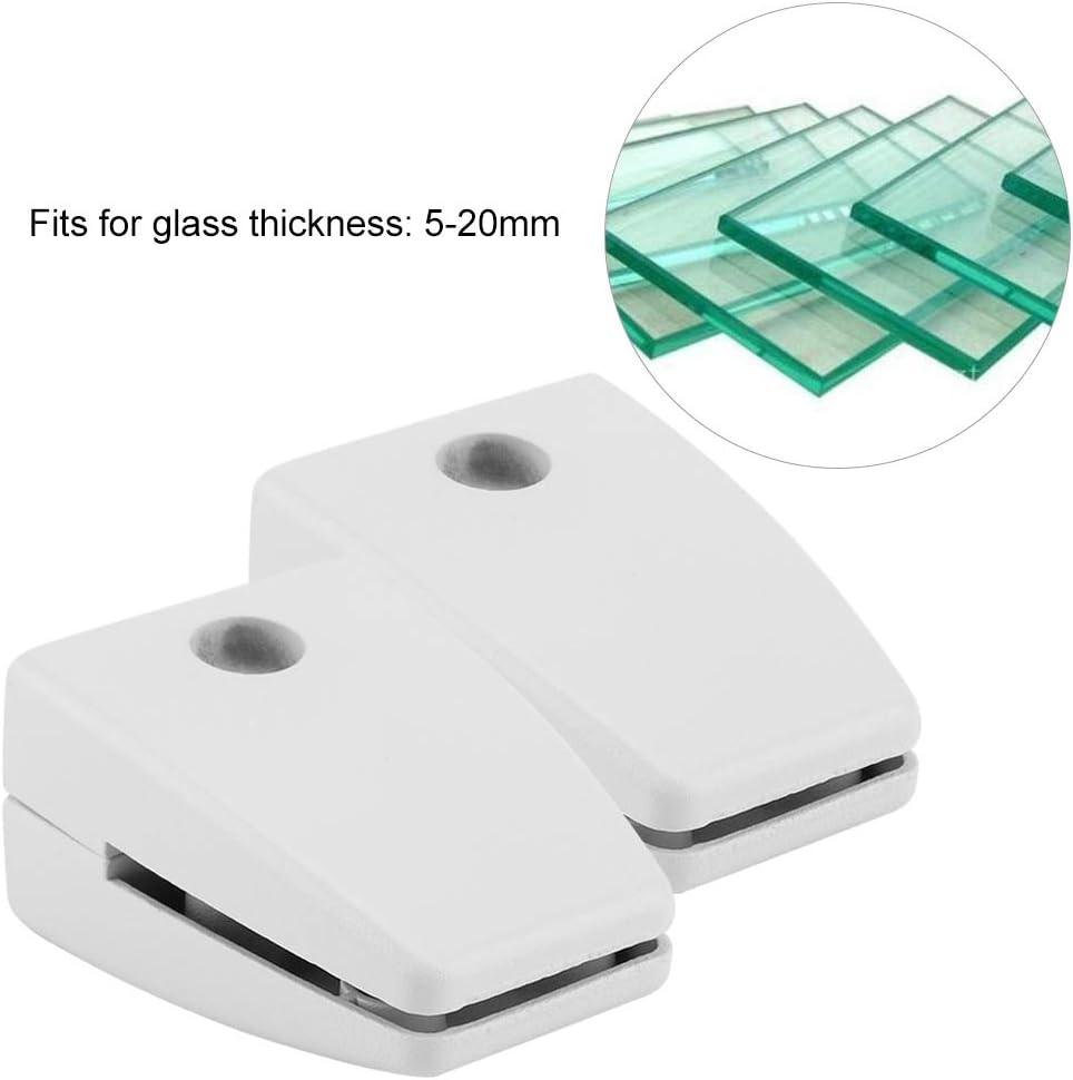FTVOGUE 2PCS Screen Clip Ufficio Partition Clip Piatto in Lega di Alluminio Vetro Morsetto della Clip della Staffa per Finestra Board 01