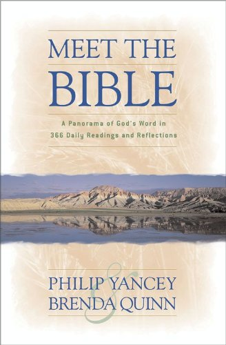 Meet the Bible: A Panorama of God's Word in 366 Daily Readings and Reflections cover