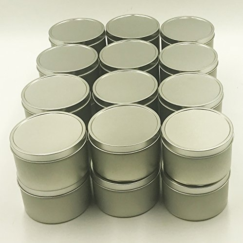24pk Tin 8oz Candle Tin
