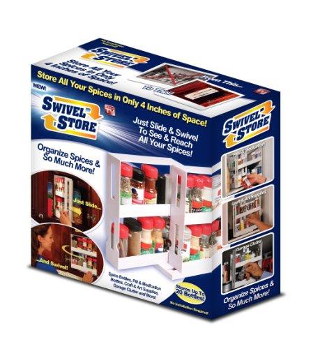 (Swivel Store Organizer Storage System)