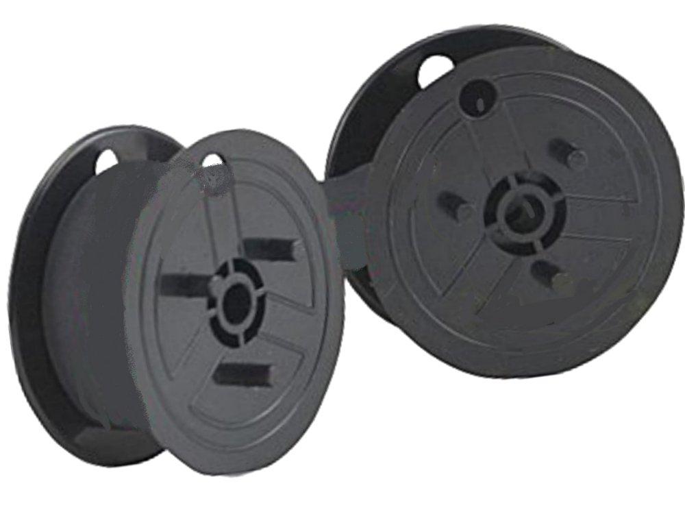 Farbband - schwarz- für Ibico 1232 X als Doppelspule für 1232X Gr.51- Farbbandfabrik Original