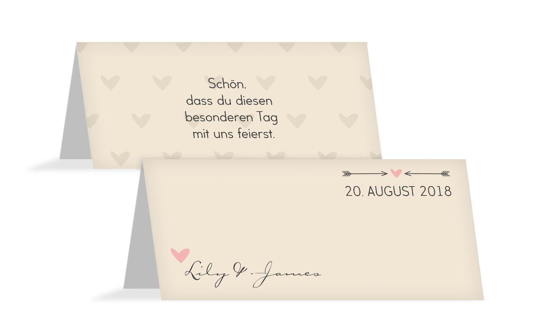Hochzeit Tischkarte Tischkarte Tischkarte Pärchen, 100 Karten, Beige B07B6QMCRD | Export  | Mittel Preis  | Ein Gleichgewicht zwischen Zähigkeit und Härte  271348