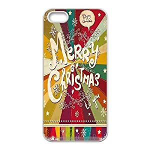 Personalized New Print Case for Iphone 5,5S, Merry Christmas Phone Case - HL-710910 wangjiang maoyi