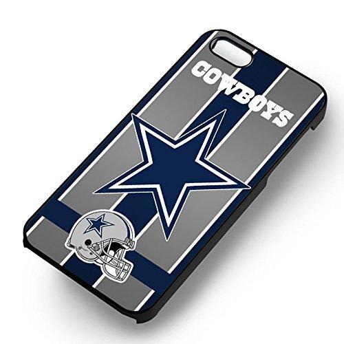 Dallas Cowboys Nfl pour Coque Iphone 6 et Coque Iphone 6s Case (Noir Boîtier en plastique dur) D3J2ZF