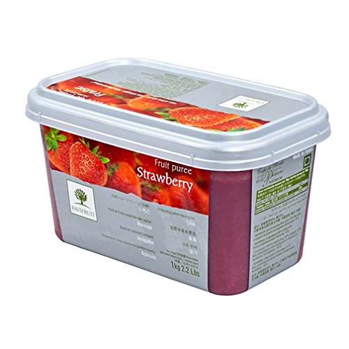 Strawberry Fruit Puree - 1 tub - 11 lbs by Ravifruit