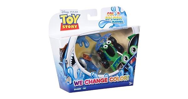Amazon.com: Toy Story Color Splash Buddies tiburón y RC ...