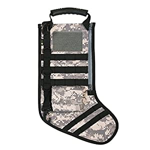 RUCKUP RUXMTSADC Tactical Christmas Stocking, Full, ACU Digital Camo