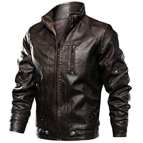 0b047b57689c Leather outwear der beste Preis Amazon in SaveMoney.es