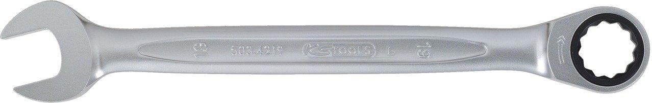 9 mm KS TOOLS 503.4209-1 Cl/é mixte /à cliquet GEARplus sans carte support