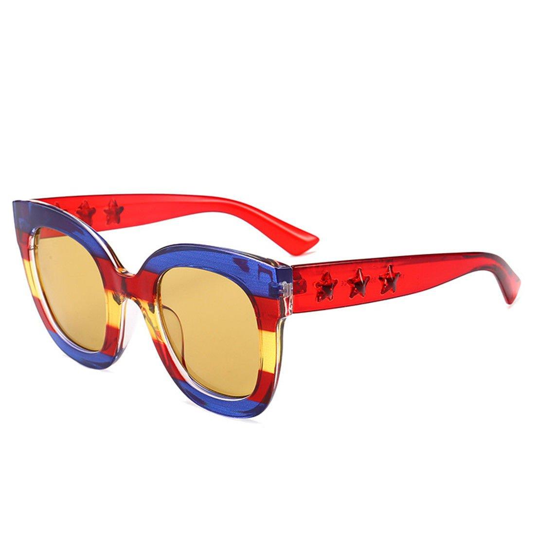 GCC Las Gafas de Sol Gafas de Sol Cuadrado Coloreado, D ...