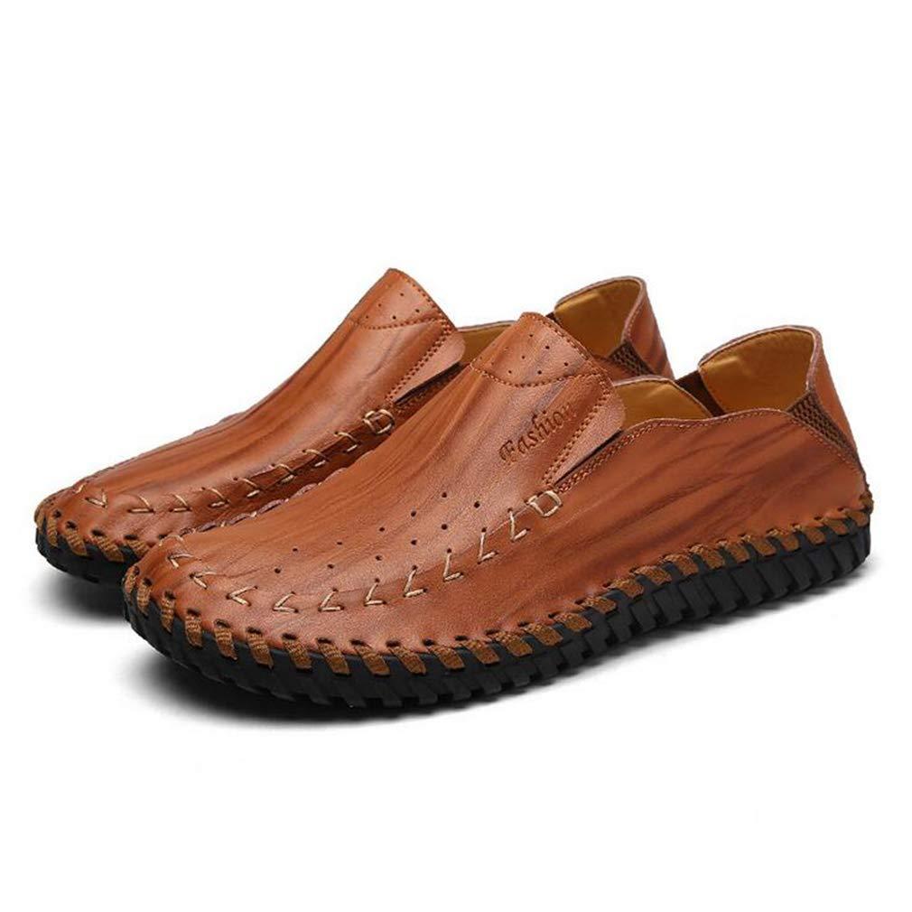 Hy Herrenschuhe, Spring Fall Fall Fall Leder Formal Business Schuhe, Flat Comfort Driving schuhe, Loafers & Slip-Ons Lazy Schuhe Peas Schuhe Office & Karriere,a,44 ee732b