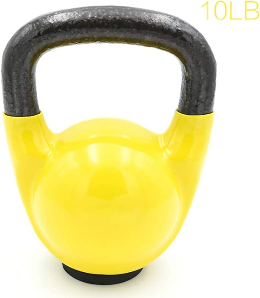 YYXA Solid Cast Iron Kettlebell Weights - for Home Gym and Home Workouts, Cross Training, Weightlifting and Fat Burning