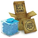 Money Maze Puzzle Box For Kids and Adults- Unique Way To Give Gifts For Special People - Fun and Inexpensive Game Challenge For Teenagers - Safe for Children - 100% Satisfaction Guaranteed!