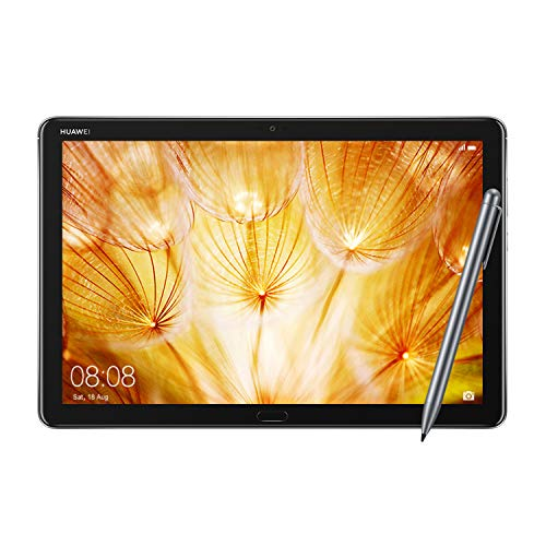 "Huawei MediaPad M5 Lite Tablet with 10.1"" FHD Display, Octa Core, Quick Charge, Quad Harman Kardon-Tuned Speakers, WiFi Only, 3GB+32GB, M-Pen Lite Stylus Included, Space Gray (US Warranty)"