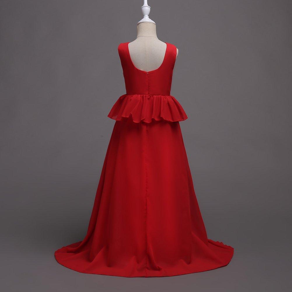 Años Vlunt Princesa 5 16 Vestido De Colores Elegante Y bgf76y