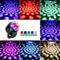 Spriak Disco Lights Sound Activated Strobe Light Disco Ball Dj Lights Party Lights Xmas 9colors Disco Light Disco Party Lights Show for Christmas Parties DJ Karaoke Wedding Outdoor with Remote from Spriak