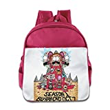 Ysov Rick Morty Child Pre School Backpack Pink