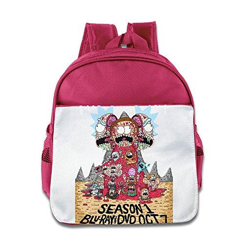 Ysov Rick Morty Child Pre School Backpack (Circa Camo)
