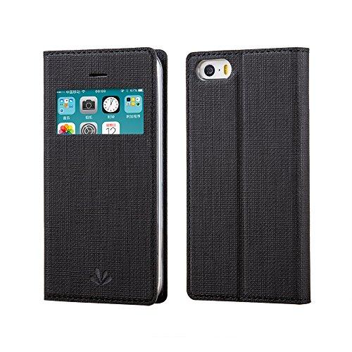 Feitenn iPhone 7 case Premium Leather PU Flip