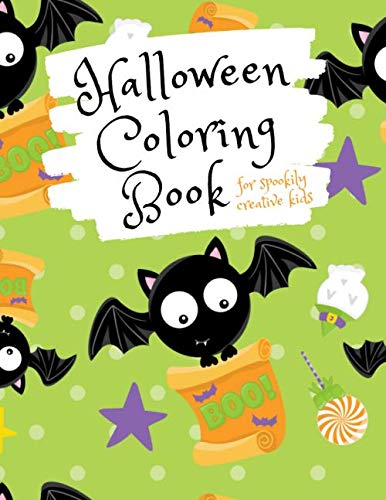 Family Crafts Halloween Costumes (Halloween Coloring Book for Spookily Creative Kids: Halloween Trick or Treat Activity Book for Elementary School Kids Aged 6-8 (Halloween Holiday)
