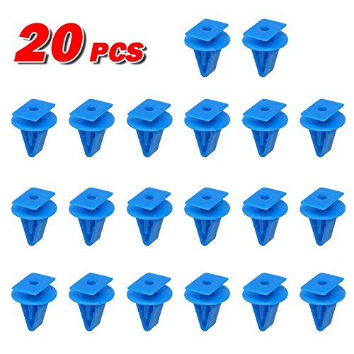 PartsSquare 20pcs Fender Liner Fastener Rivet Push Clips Retainer Replacement for Acura RDX TL TLX TSX Replacement for Honda Accord Civic Insight Fit Crosstour CR-Z