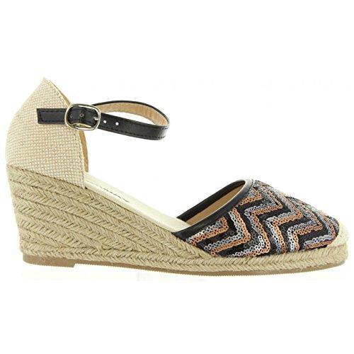 Chaussures Pour Femmes Avec Cale Urban B732481-b7200 Blk-bei Taille-carte 37