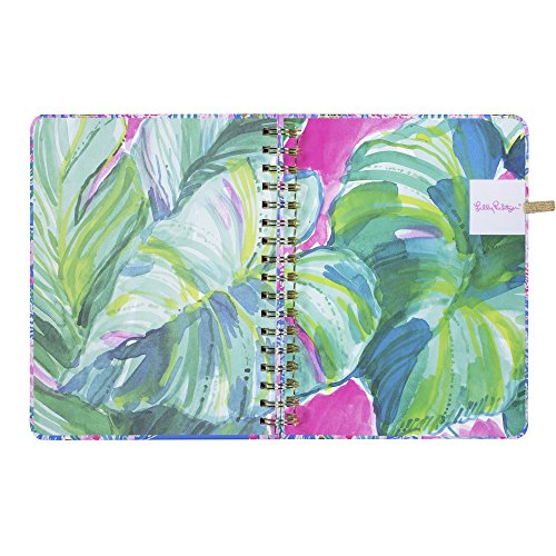 Lilly Pulitzer 17 Month Large Agenda, Personal Planner, 2018-2019 (Mermaid Cove) by Lilly Pulitzer (Image #8)'