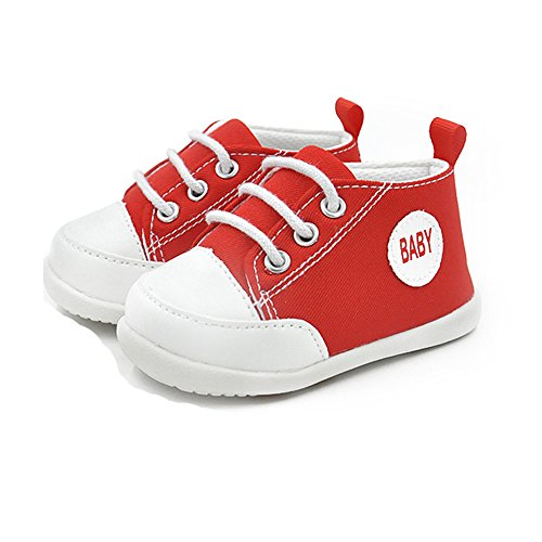 Baby Girls Shoes For Infant Newborn Girl Girls Boy Boys Kids Babies Toddler Tennis Walking Running Soccer Size 4 5 Pink Blue White Red Shoes Sneakers Flats( 4.72